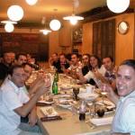 ארוחת ערב מדהימה עם אנשים מדהימים