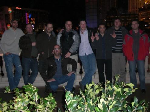 חלק מהנבחרת הישראלית בטיול בוגאס...